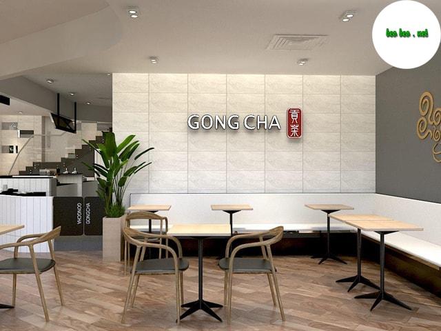 Cửa hàng trà sữa Gong Cha