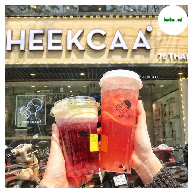 Địa chỉ trà sữa Heekcaa