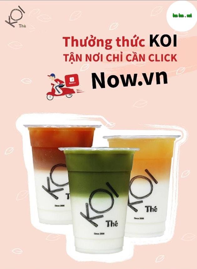 Trà sữa Koi Thé