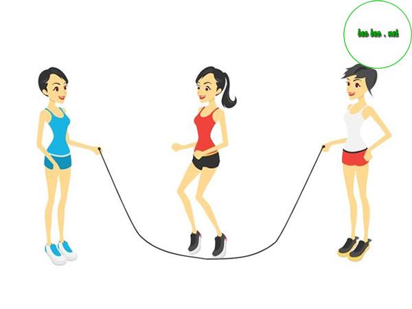 Giảm cân bằng nhảy dây