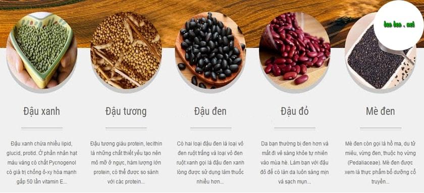 Bảng giá bột ngũ cốc tăng cân gia truyền (nhà làm) xịn nhất