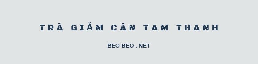 Banner trà giảm cân Tam Thanh